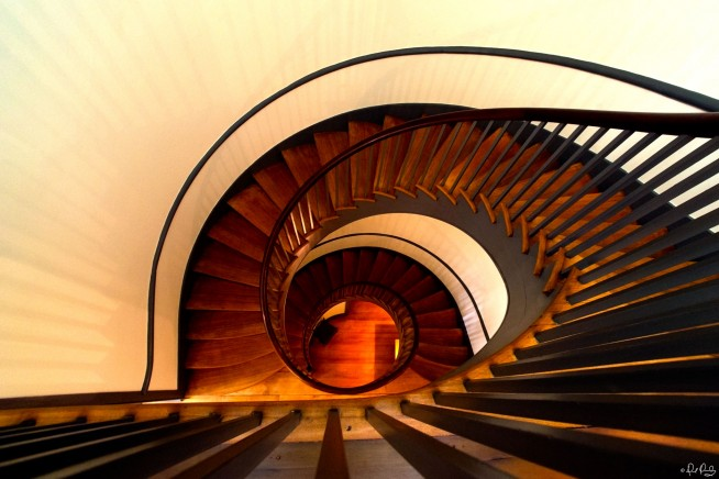Around and Around a Staircase Goes