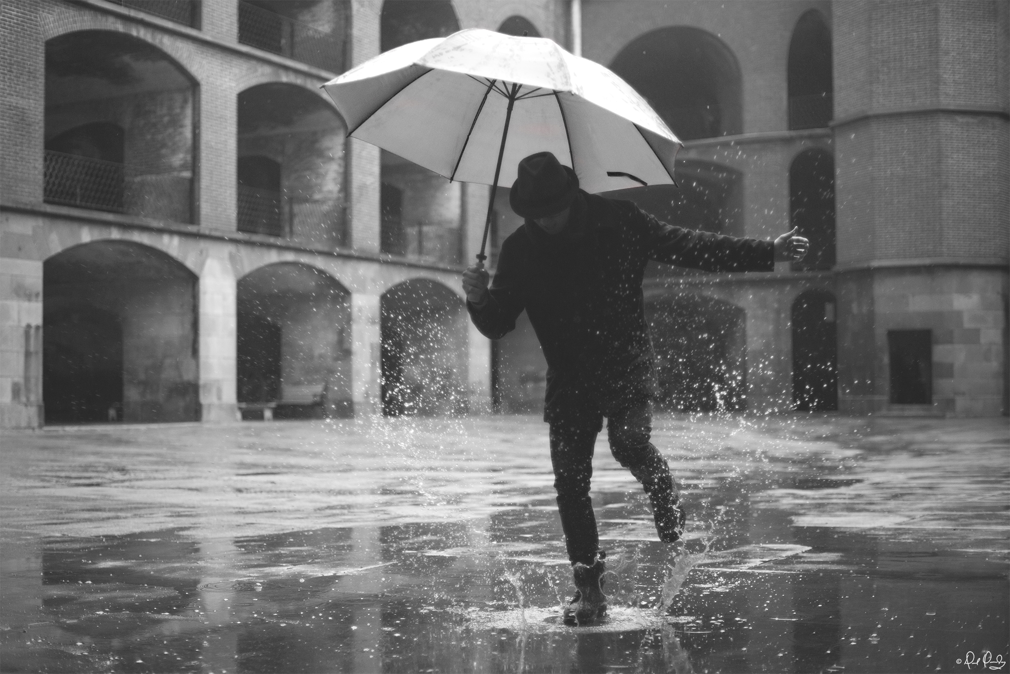 Some people feel the rain others just get wet bob marley
